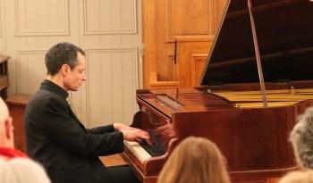 Etienne Goepp en concert à Thomery.