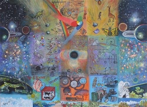 Christian Vergalli, entre poésies et peinture.