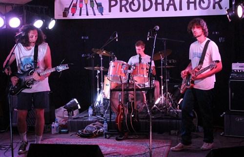 Le groupe Iris en concert à Villecerf.