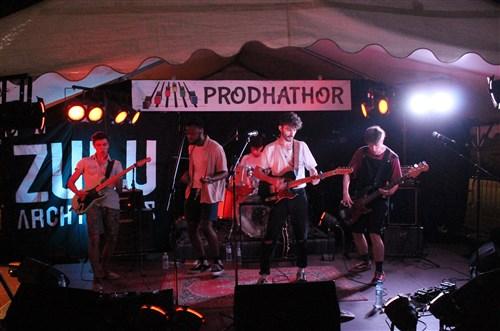 Le groupe Zulu Architects en concert à Villecerf.