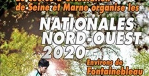 Course d'orientation Nationales Nord-Ouest 2020