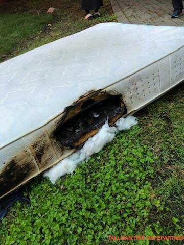 the burnt mattress