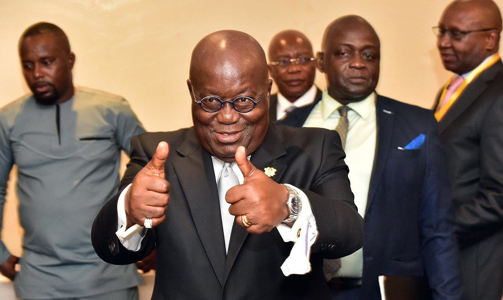 Forecast Update: Regions where Nana Addo is getting stronger