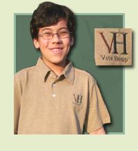 Vote Hemp Embroidered Polo Shirt