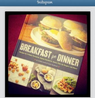 Instagram Cookbook