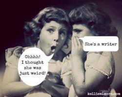 She's a writer