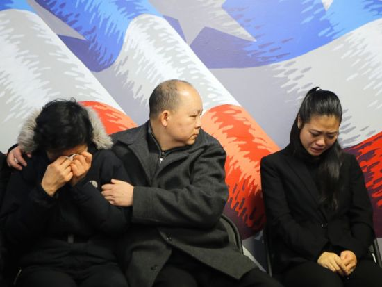 Wife and family of slain NYPD Officer Wenjian Liu