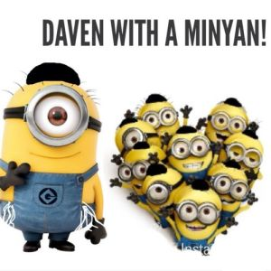 Daven with a Minyan