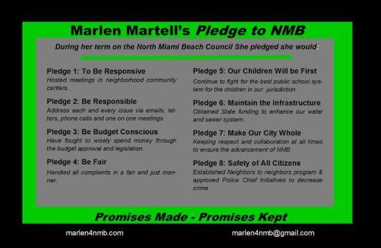 Marlen Martell's Pledge
