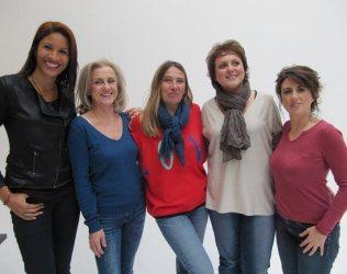 Pascale coach en image, Pascale, Nathalie, Nadine et Marylène
