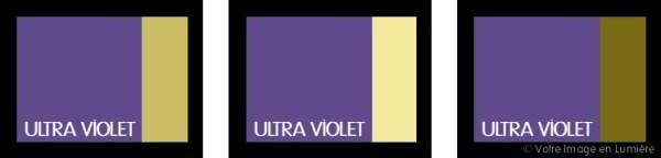 Ultra violet pantone 2018 - Harmonies complémentaires