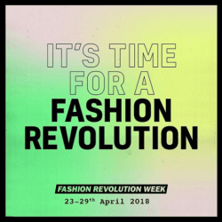 It's time time for a fashion revolution