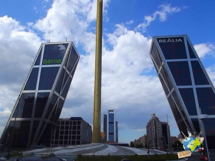 torres plaza de castilla