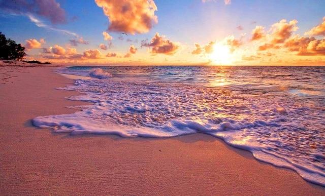 Beach-at-sunset