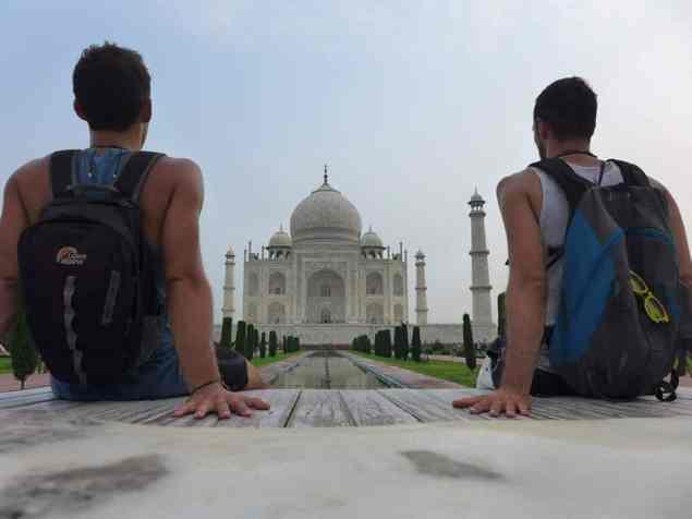 Passe ton smile Taj Mahal