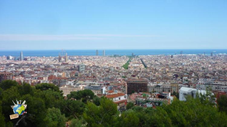 top 5 des espaces verts à Barcelone