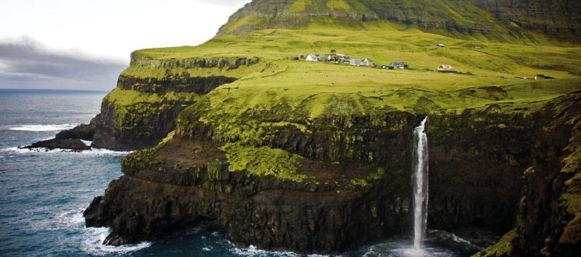 1. île féroé cascade