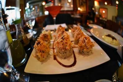 Les meilleurs sushis de ma vie, c'était vraiment à Thalia