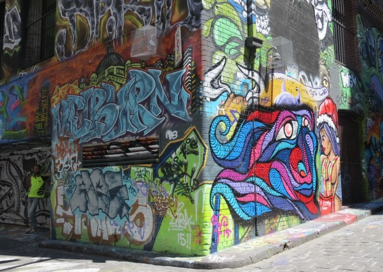 Interview - Hosier lane Melbournne