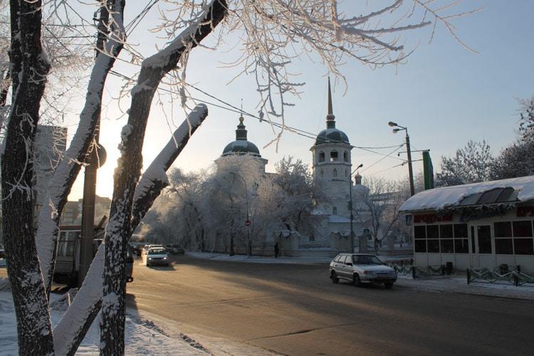 Eglise orthodoxe, centre d'Irkoutsk