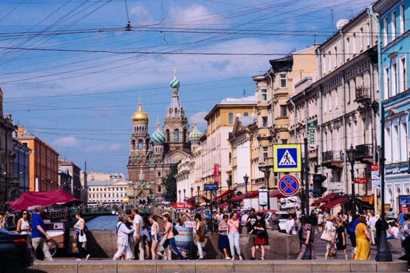 la cathédrale de Saint Petersbourg