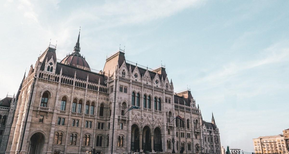 Le parlement hongrois, le 3eme plus grand parlement du monde.