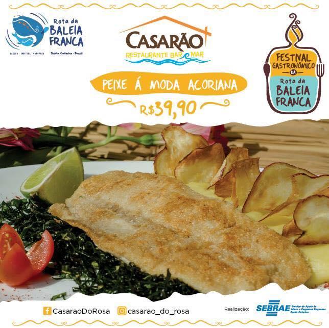Festival Gastronômico Rota da Baleia Franca