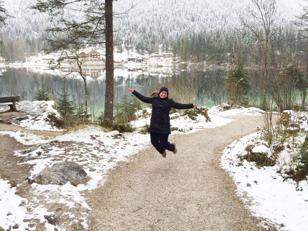 Curtindo o friozinho do inverno alemão em Berchtesgaden, na Baviera