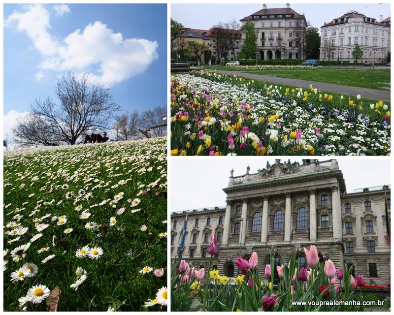 Toda a beleza da Primavera em Munique