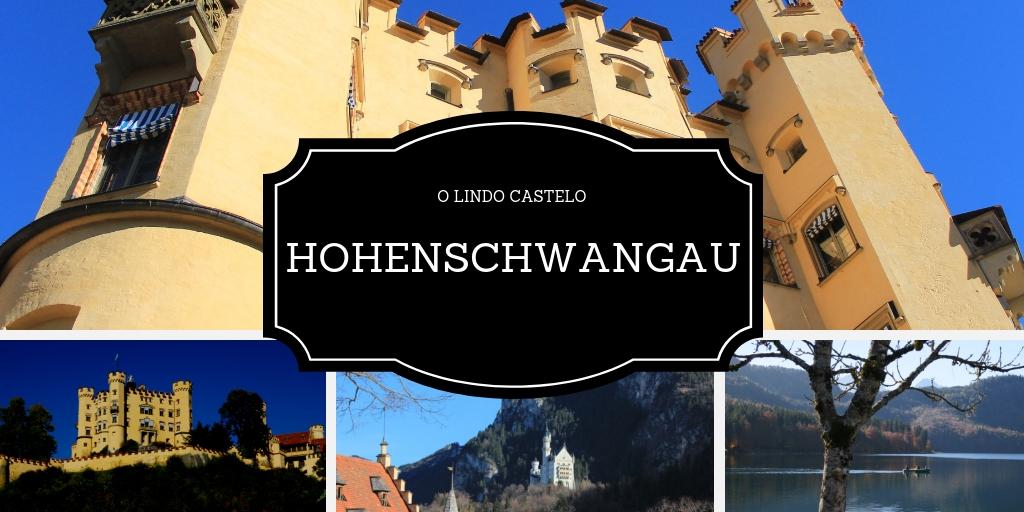 Castelo Hohenschwangau, próximo a Munique
