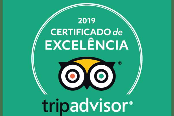 Certificado de Excelência do Tripadvisor que recebi pelo trabalho de guia brasileira em Munique
