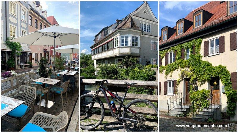 Arquitetura e romantismo nas ruas de Landsberg am Lech