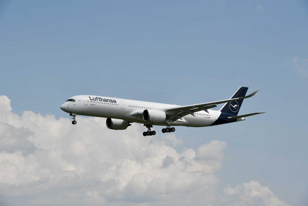 Aeronave da Lufthansa que opera no voo direto entre Munique e São Paulo