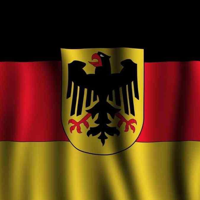 A águia federal da Alemanha