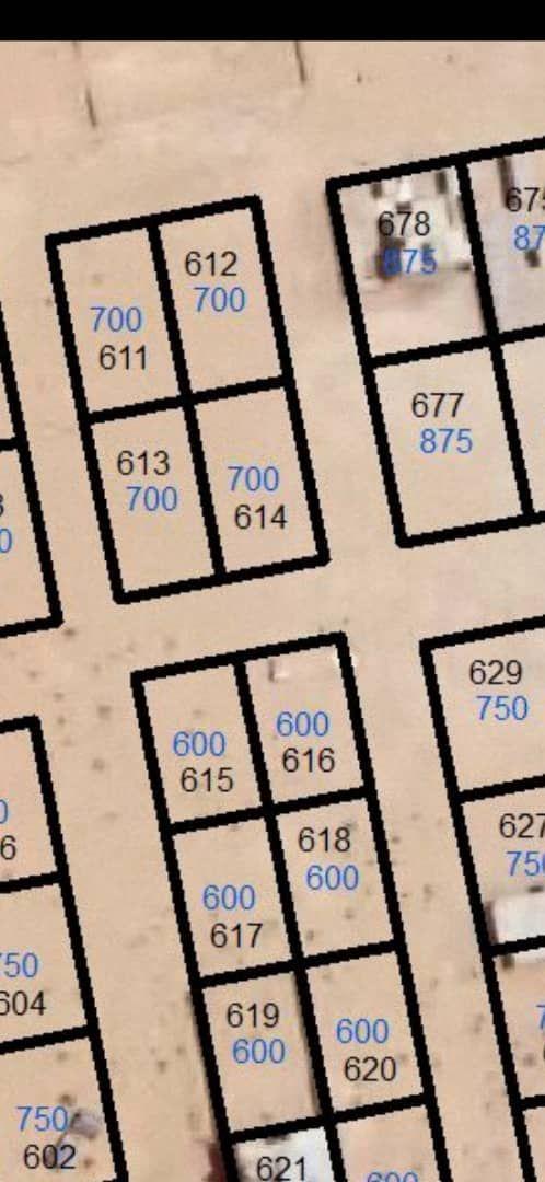 نيمرو للبيع في تفرغ زين في كرن م700م قابل للقسم علا 2