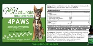 4-Paws-Huile-CBD-Animaux-de-compagnie-Hemp-Herbals-HB-Naturals-Jean-Marc-Fraiche-VousEtesUnique
