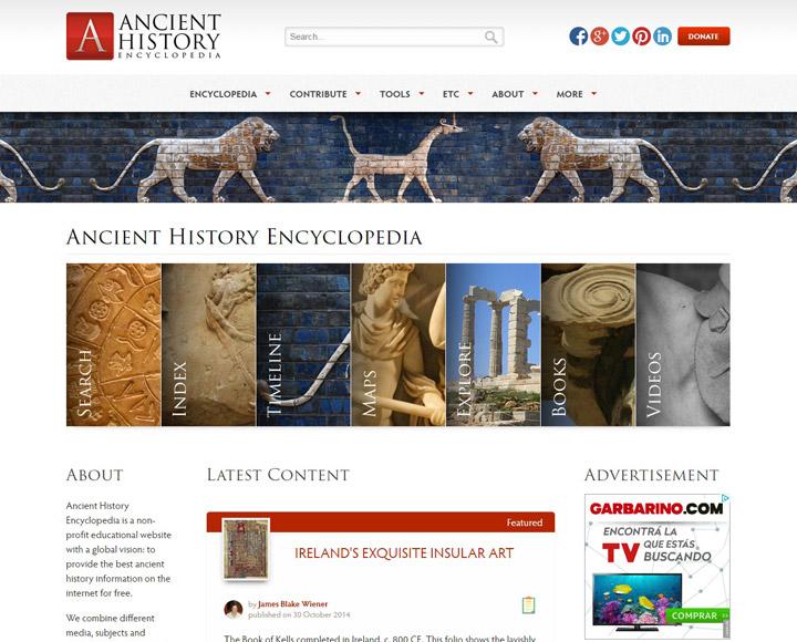 AHE – Ancient History Encyclopedia