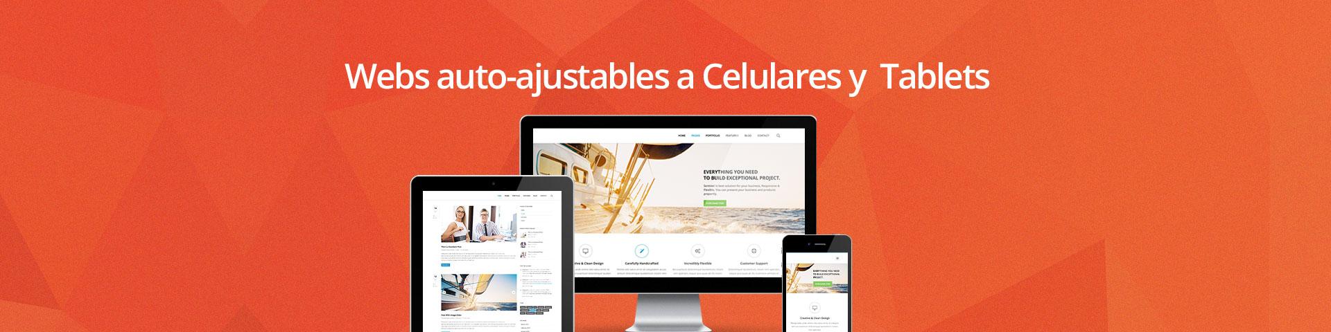 diseño web para celulares y tablets