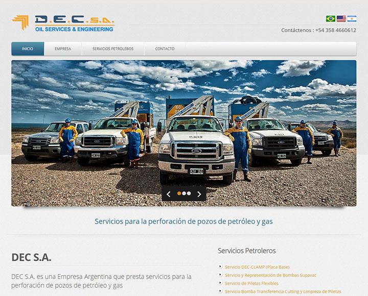 DEC S.A. Servicios Petroleros