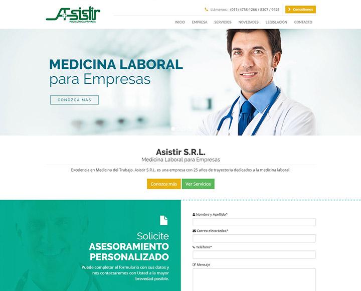 Asistir S.R.L. – Medicina Laboral
