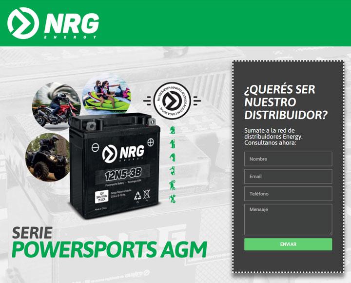 Landing Page NRG
