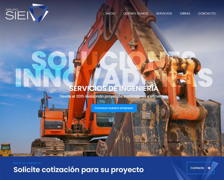 diseño web para proyectos de ingenieria