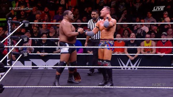 NXT TakeOver Portland : Keith Lee conserve son titre