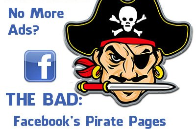 Is Facebook finally finding piracy offensive?