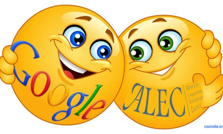 Google's new BFFs, ALEC & the Koch Brothers