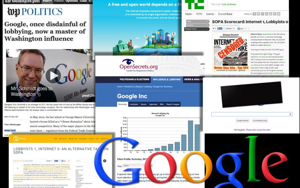 Google's plea against web censorship rings hollow