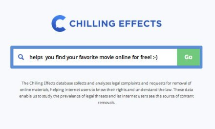 Does Chilling Effects (now Lumen) make a mockery of the DMCA?