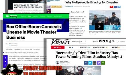 Box Office Profits NOT Proof Piracy Doesn't Hurt