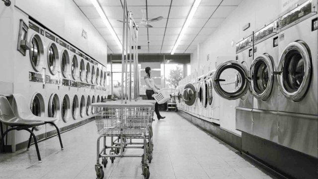 image of many washing machines