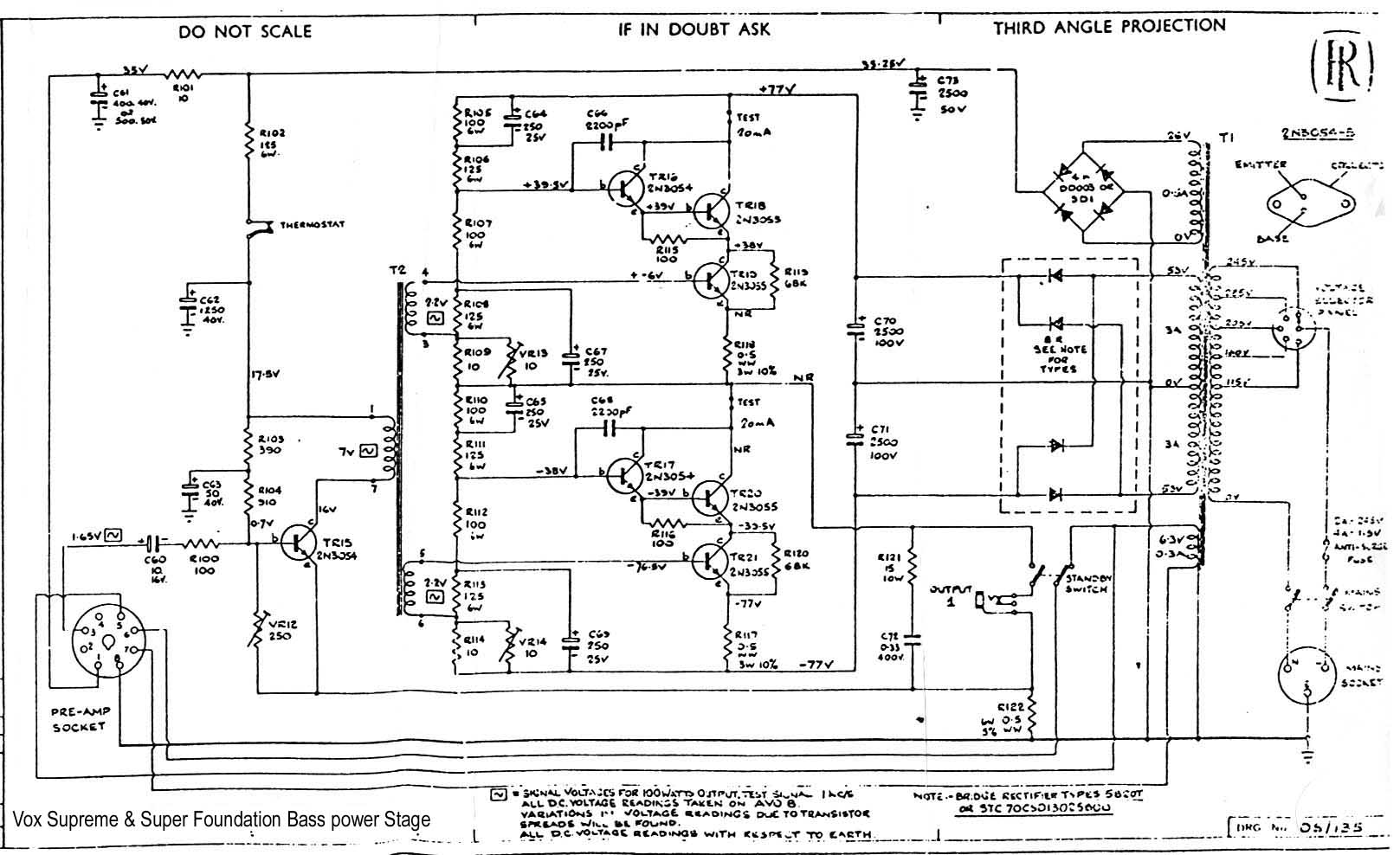 Vox Guitar Wiring Diagram Schecter Diamond Series Wiring